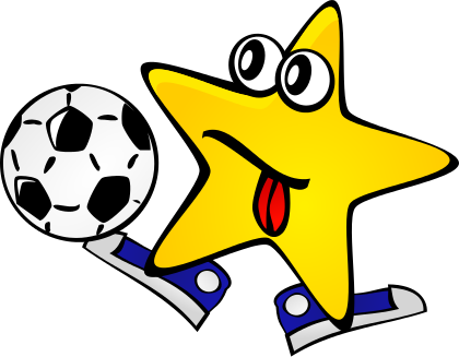 420x327 Image For Star Soccer Player Character Clip Art Character Clip
