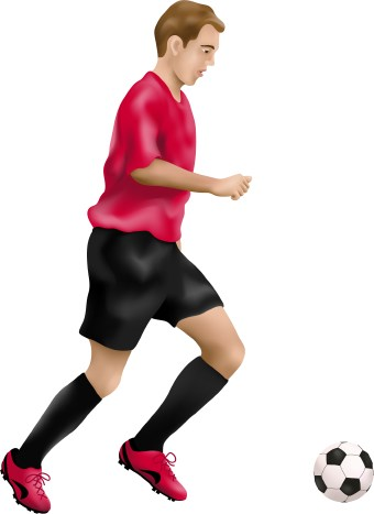 340x467 Playing Soccer Clipart Clipart Panda