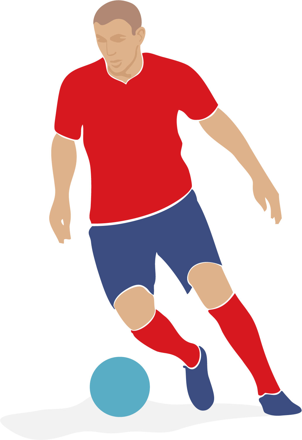 1031x1500 Clipart Soccer Player