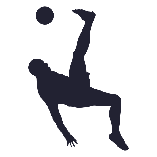 512x512 20 Soccer player silhouettes