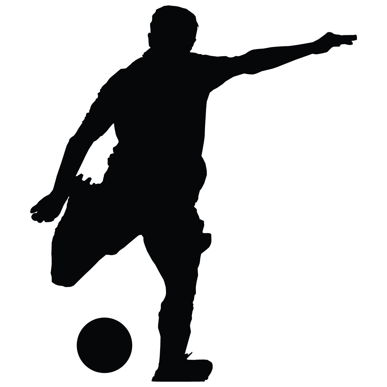 1296x1296 Soccer Wall Decals by TheVinylGuru