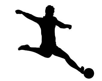 340x270 Soccer player svg Etsy