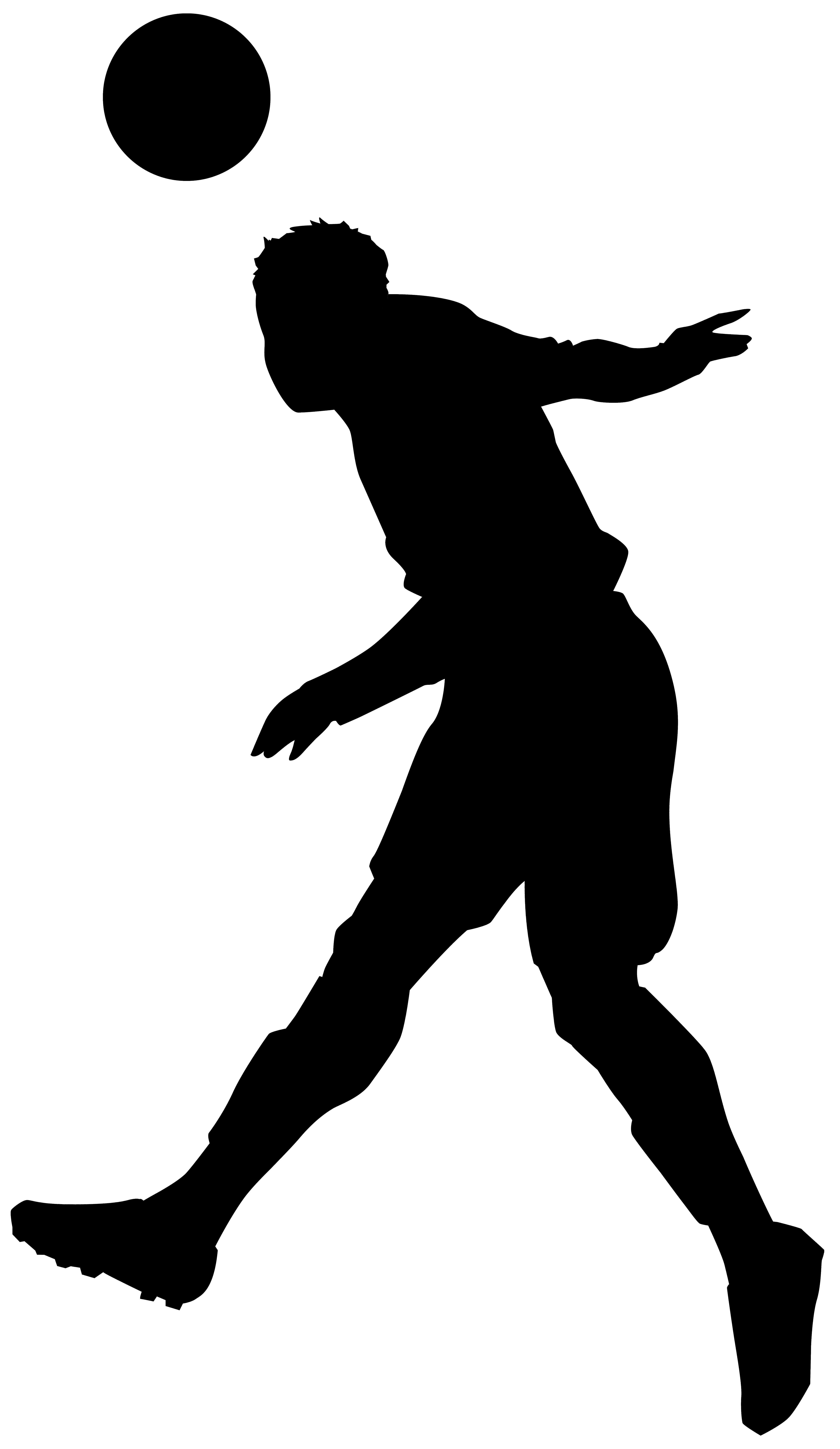 4638x8000 clipart football players silhouette