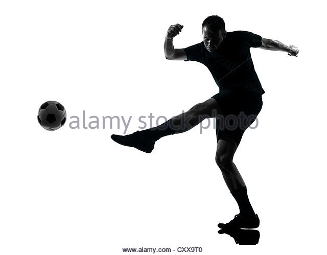 640x499 Silhouette Football Player Football Stock Photos Amp Silhouette