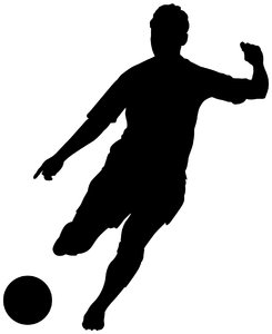 245x300 Girl Soccer Player Silhouette Clipart Panda