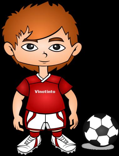 380x500 Free Cartoon Soccer Player Clip Art