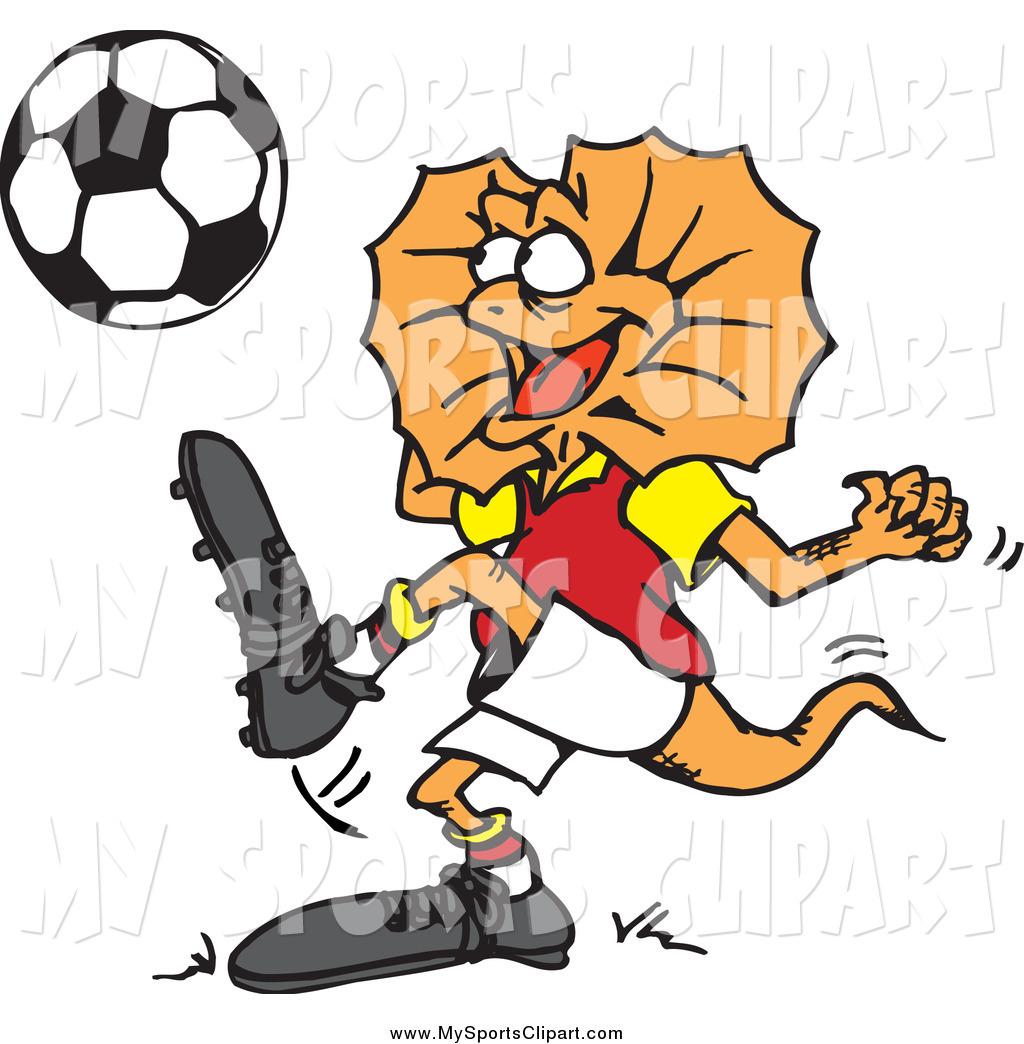 1024x1044 Lizard Clipart Soccer Player