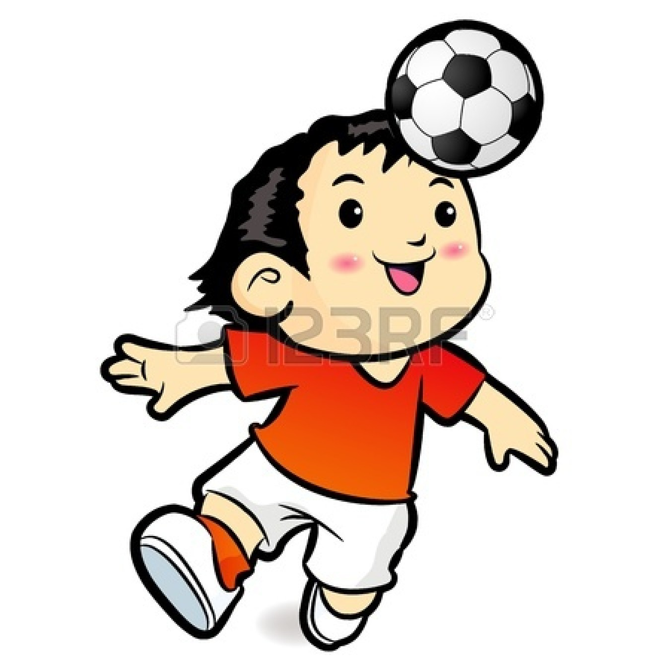 1350x1350 Soccer Characters Clip Art