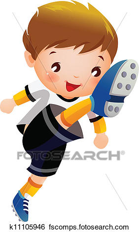 282x470 Soccer Player Clip Art And Illustration. 18,294 Soccer Player