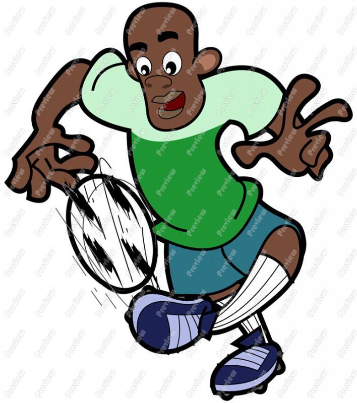 708x800 Black Soccer Player Clip Art
