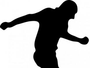 310x233 soccer player silhouettes free vectors UI Download