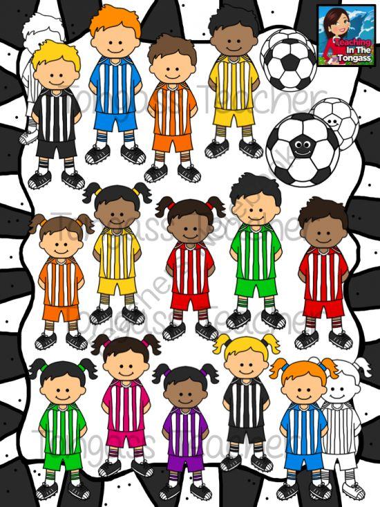 Soccer Team Clipart