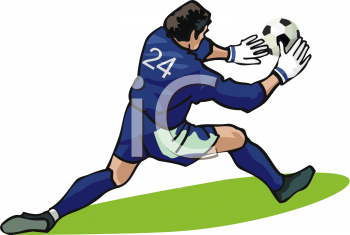 350x235 Royalty Free Soccer Clip Art, Sport Clipart
