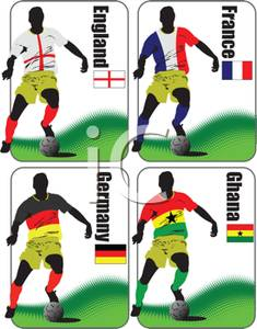 235x300 Set Of World Cup Soccer Team Cards