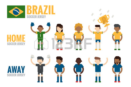 450x300 Soccer Jersey Icons Royalty Free Cliparts, Vectors, And Stock