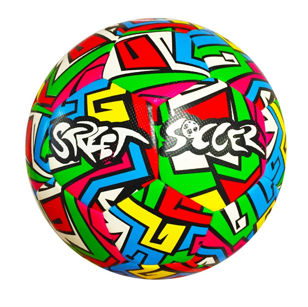 Soccerball With Flames