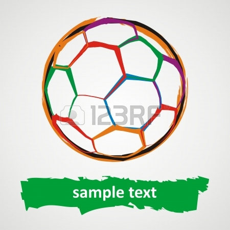450x450 Fire Soccer Ball Logo Royalty Free Cliparts, Vectors, And Stock