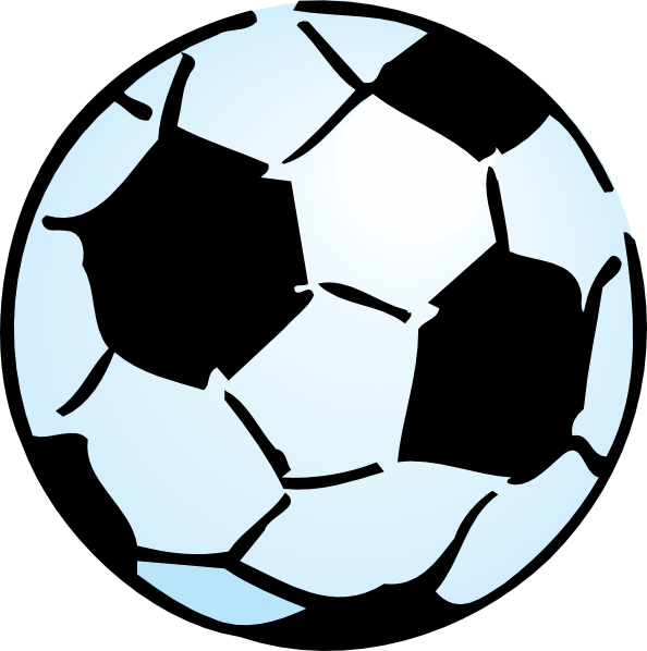 594x598 Free Soccer Ball Clipart Image