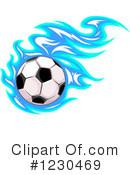 130x175 Soccer Ball Clipart