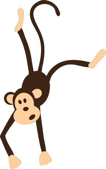 372x592 Monkey Face Monkey Clip Art Hanging Monkey Clip Art Vector 2