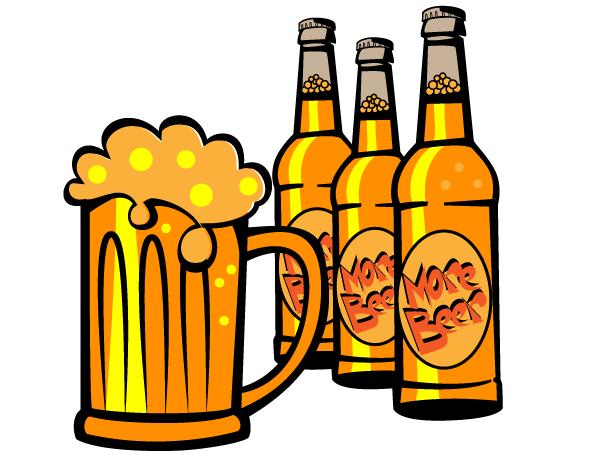 600x455 Free Beer Bottle Vector Clip Art Download Free Vector Graphics