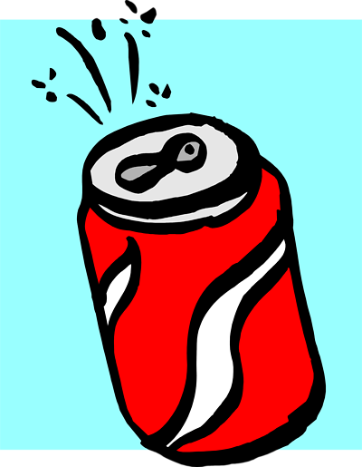 400x515 Free Soda Clipart