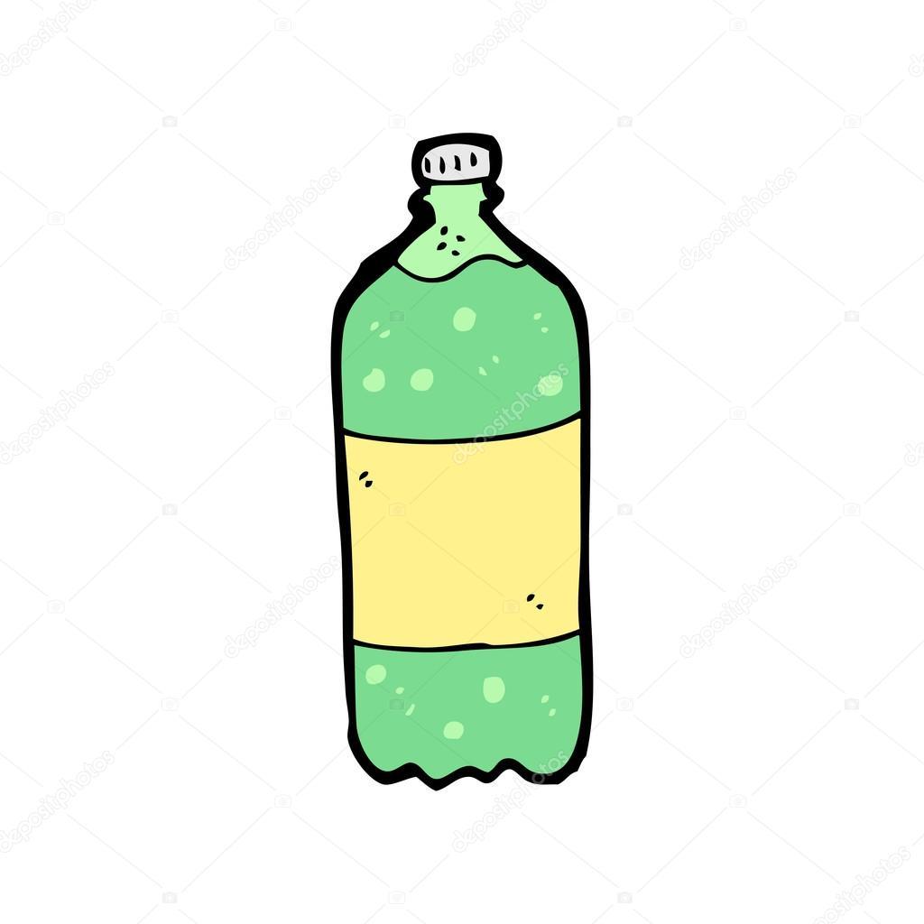 1024x1024 Cartoon Bottle Of Soda Stock Vector Lineartestpilot