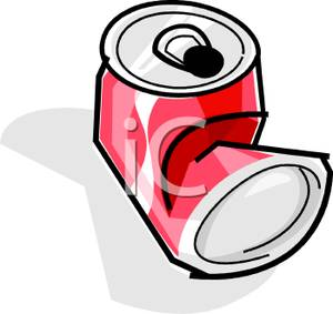 300x283 Crushed Soda Can