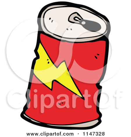 450x470 Soda Can Cartoon Clipart