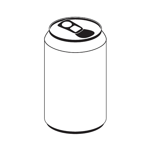 500x500 Soda Can Cartoon Clipart