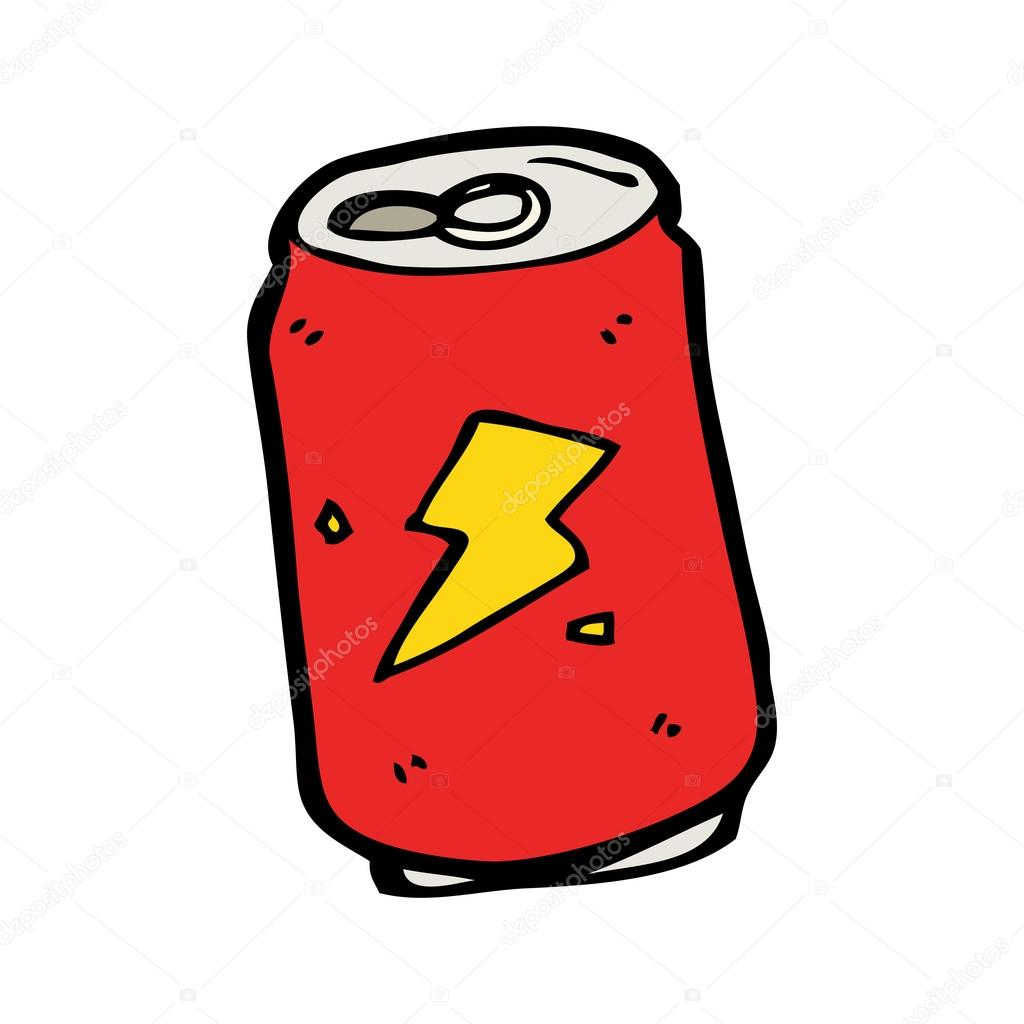 1024x1024 Soda Can Cartoon Stock Vector Lineartestpilot