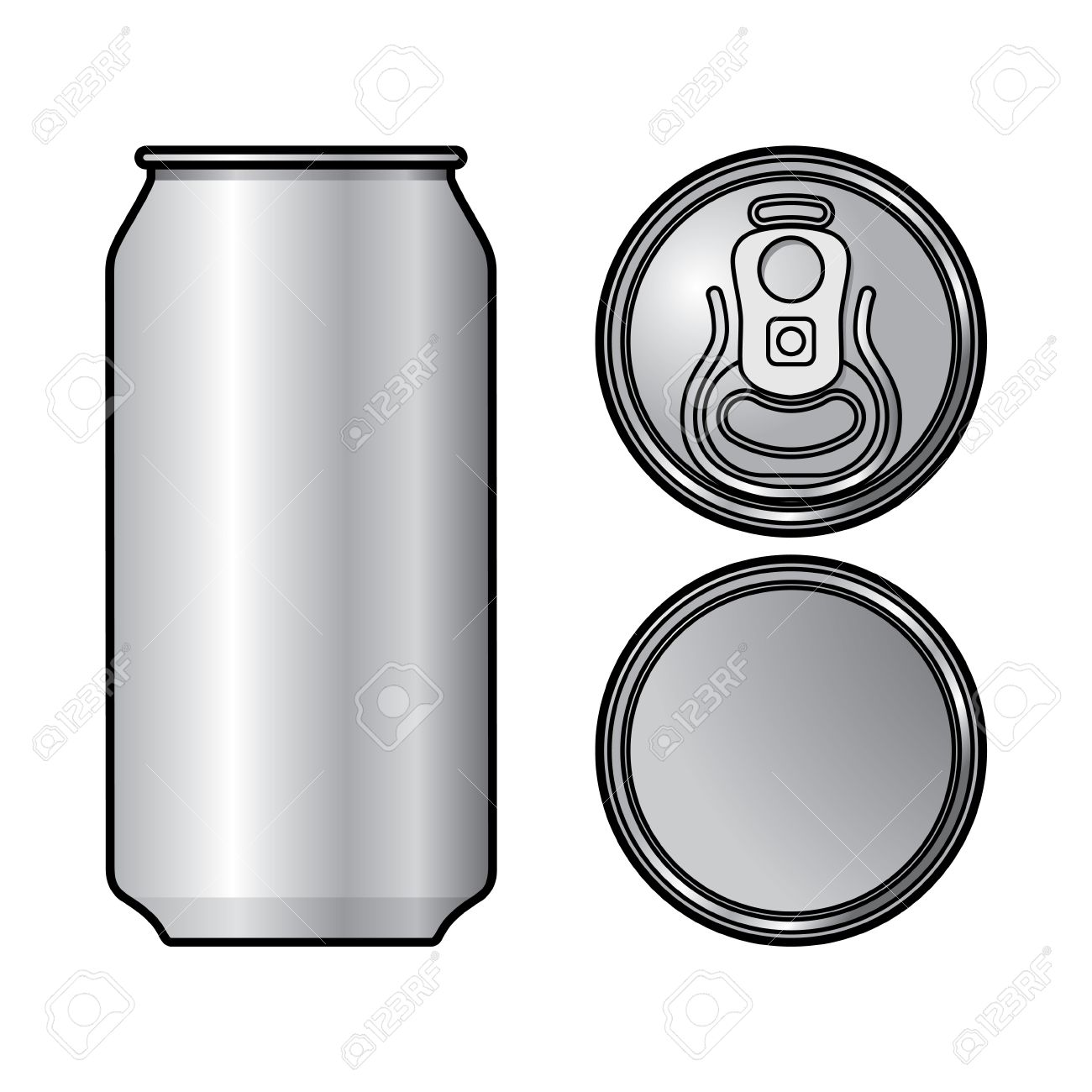 Soda Cans Clipart