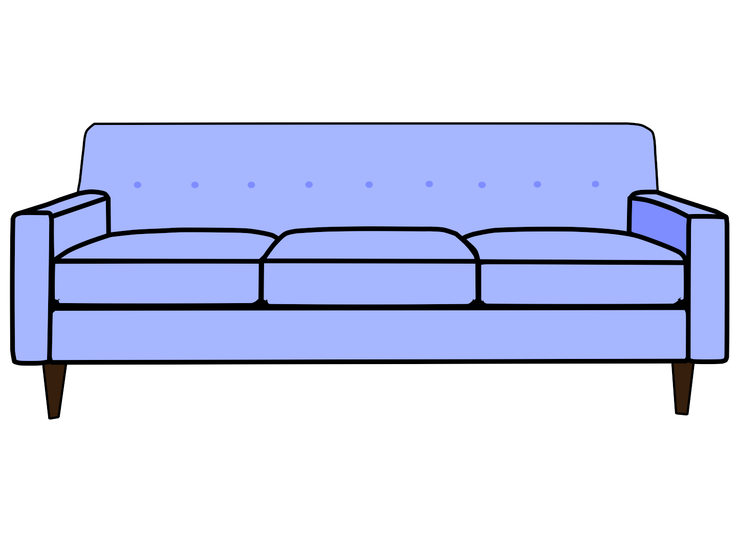 1440x1080 Sofa Couch Top View Clipart Kid