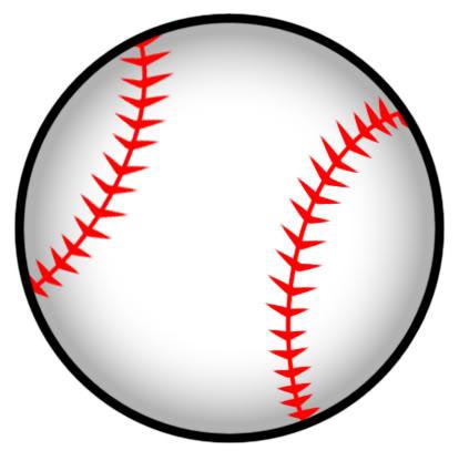 414x416 Image Of Clip Art Softball