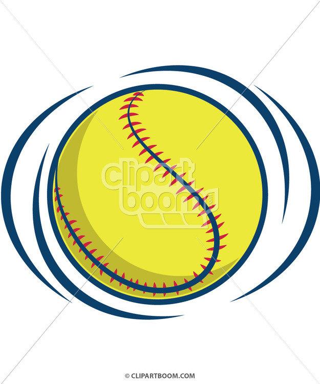 625x750 Softball Clip Art
