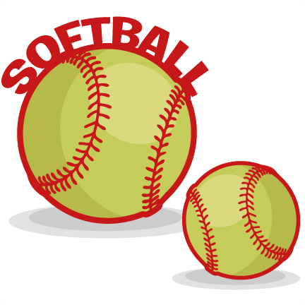 432x432 Softball Images Clip Art Clipart 2
