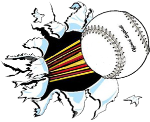 300x245 Softball Images Clipart