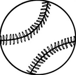320x319 Drawn Ball Softball