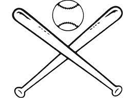 263x191 Softball Bat And Ball Clipart