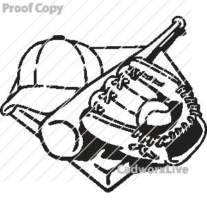 300x300 Baseball Bat Clipart Baseball Mitt