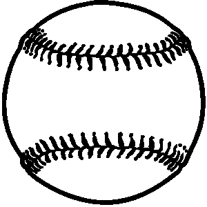 300x300 Softball Ball Clipart Free Clipart Images 2
