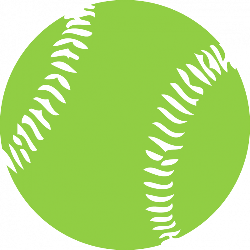 800x800 Softball Clipart Free Graphics Images Pictures Players Bat Image 1