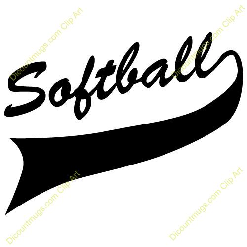500x500 Clipart Free Softball