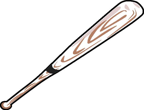 600x459 Baseball Bat Clip Art