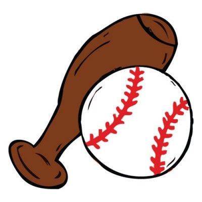 Softball Bats Clipart