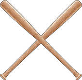 170x166 Softball Bat Clip Art