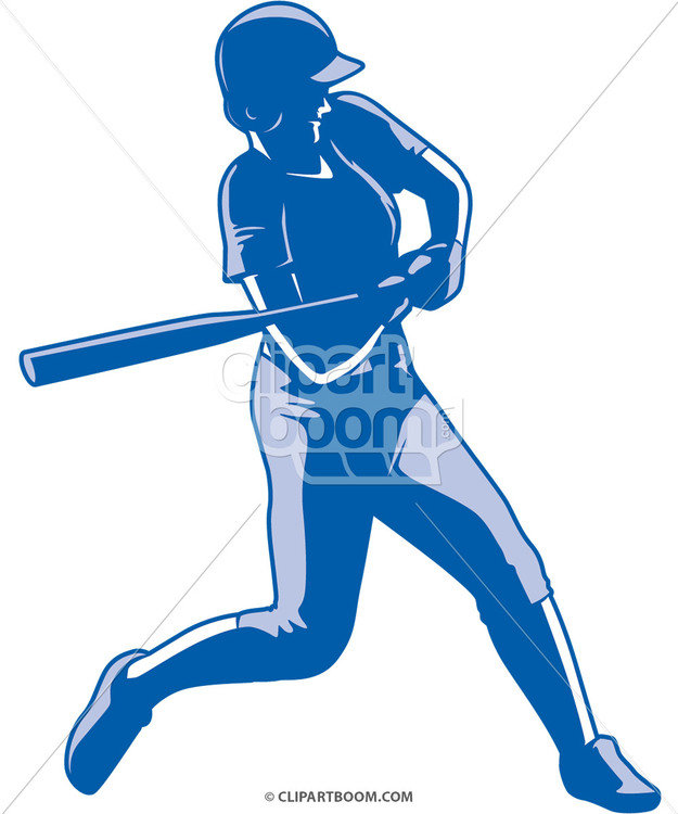 625x750 Vector Softball Clip Art Designs