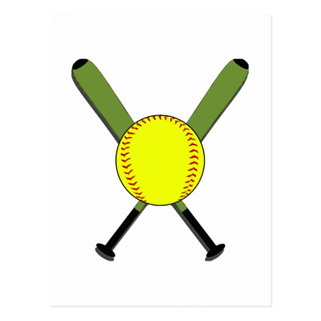 630x630 Images Softball Bats Crossed
