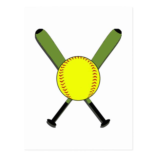 630x630 Images Softball Bats Crossed