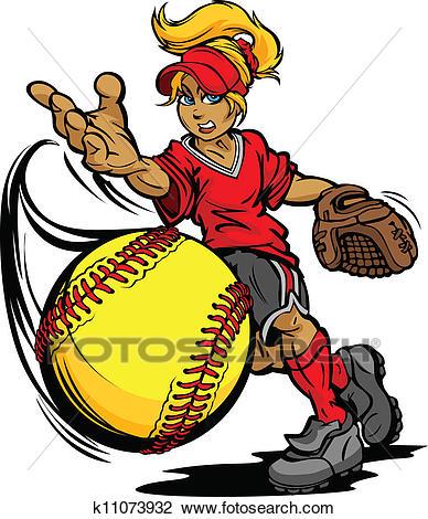 388x470 Fastpitch Softball Pitcher Clipart Amp Fastpitch Softball Pitcher